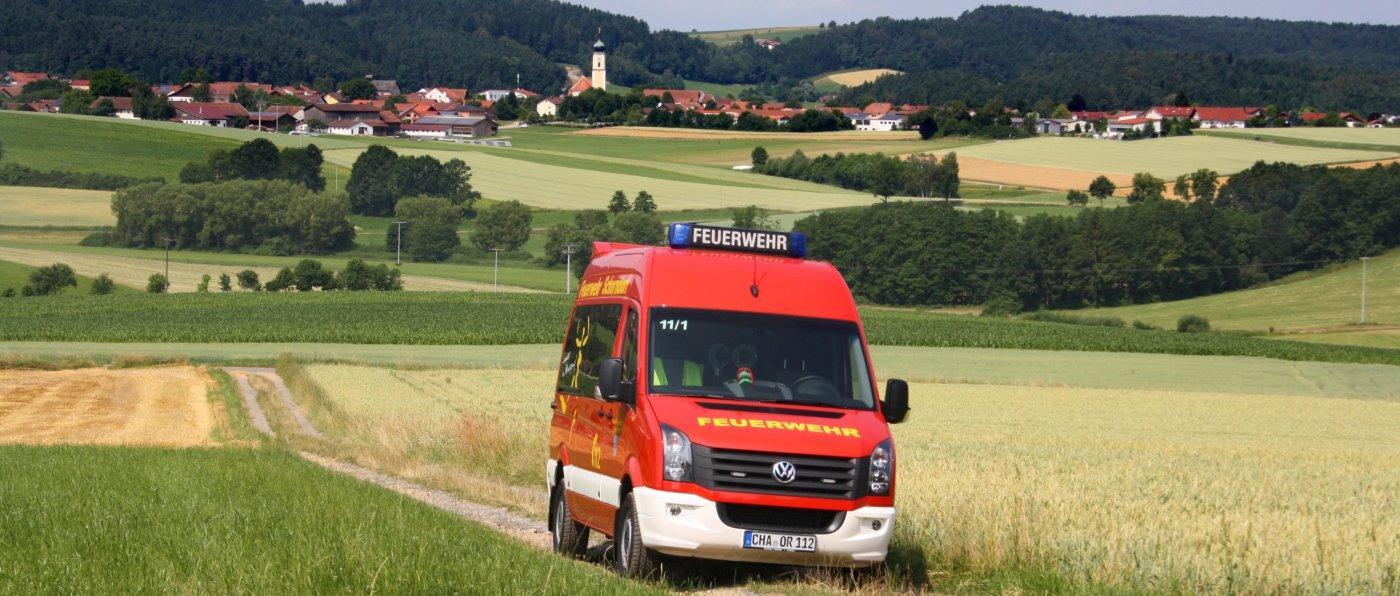ffw-schorndorf-ortsansicht-feuerwehrauto-landkreis-cham